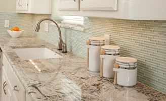 a mosaic glass tile backsplash is a great choice for homeowners with children this type of backsplash is easy to clean and consumers dont need to worry