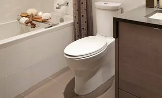 2017 toilet installation cost guide how much to install - Average cost of a new bathroom 2017 ...