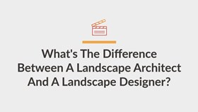 Video: What's The Difference Between a Landscape Architect & Landscape Designer?