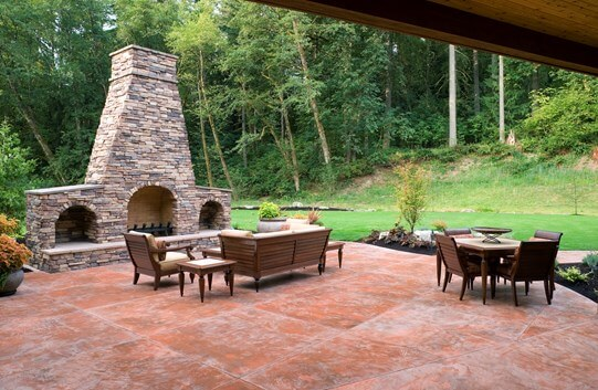Porch Vs Deck Which Is The More Befitting For Your Home: Stamped Concrete Patio Cost