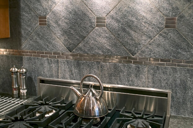 Natural Stone Backsplash