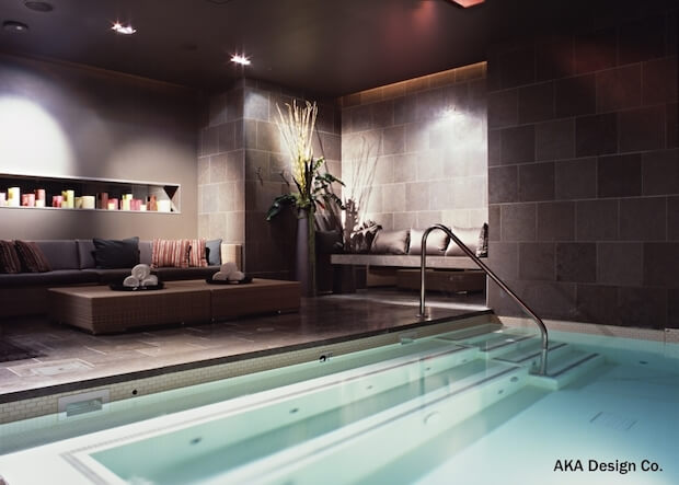 7 awesome basement remodels pictures for Basement swimming pool ideas