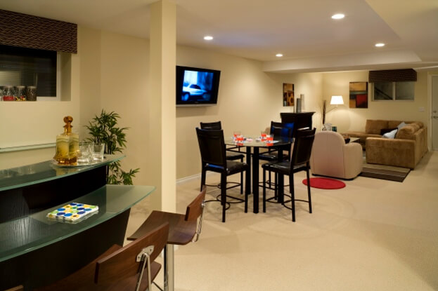 2017 basement remodeling trends basement remodel for Cost to build a bar in basement