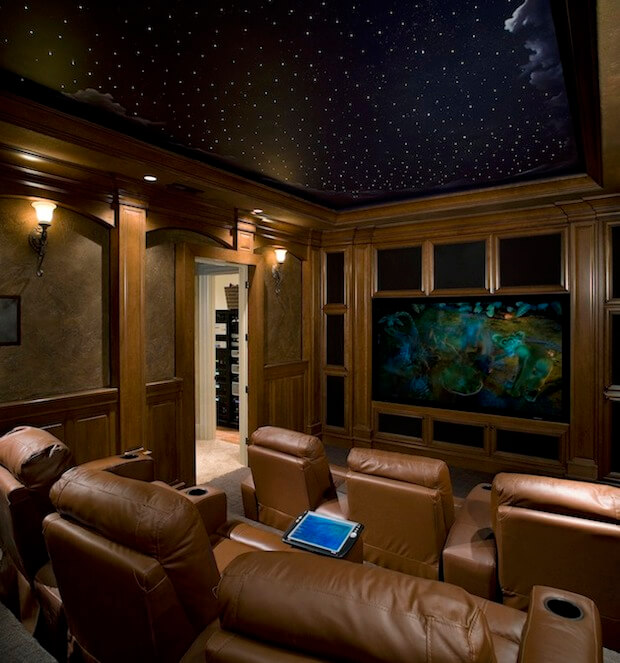 Home Entertainment Design Ideas: How To Create The Ultimate Man Cave