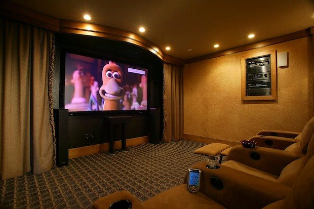 Home Theater Basement 2