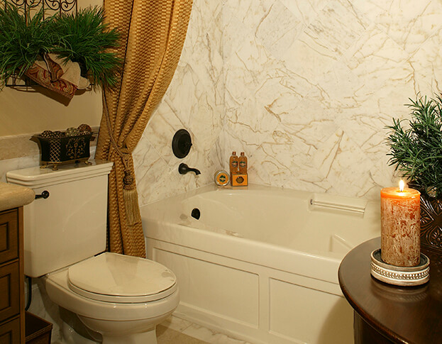 Fall Bathroom- Natural Décor