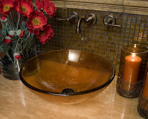 Fall Bathroom: Powder Room Décor