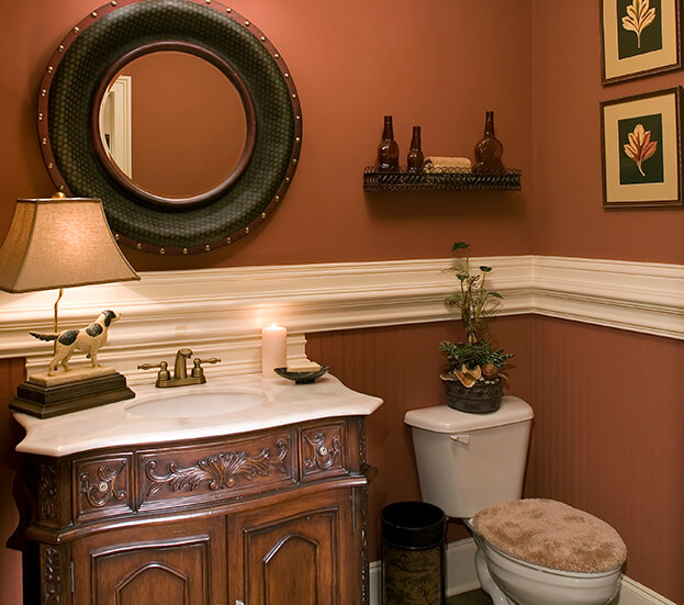 Fall Bathroom-Wall Art