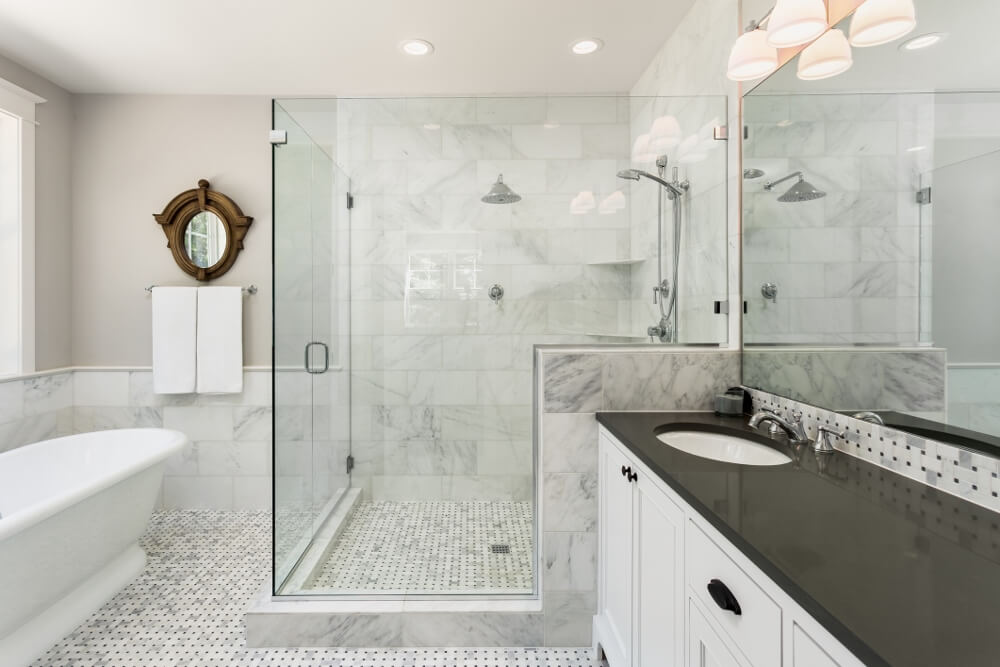 Cultured Marble Shower Tile