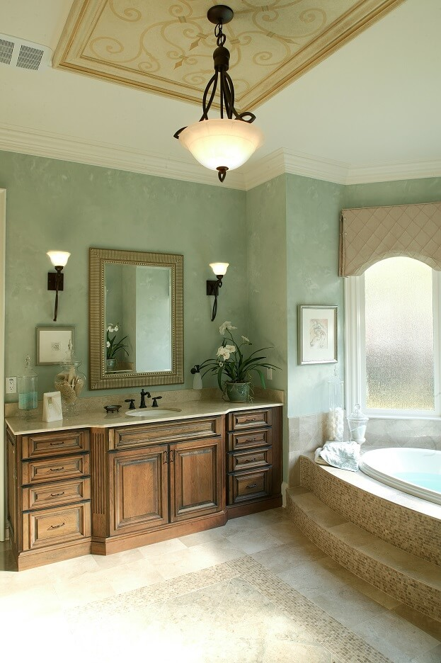 Green paint for bathroom