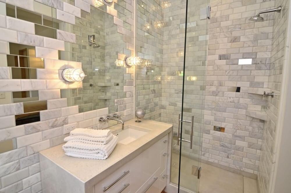 Bathroom Floor Tile Trend Bathroom Fascinating Bathroom Tiling - Current bathroom tile trends