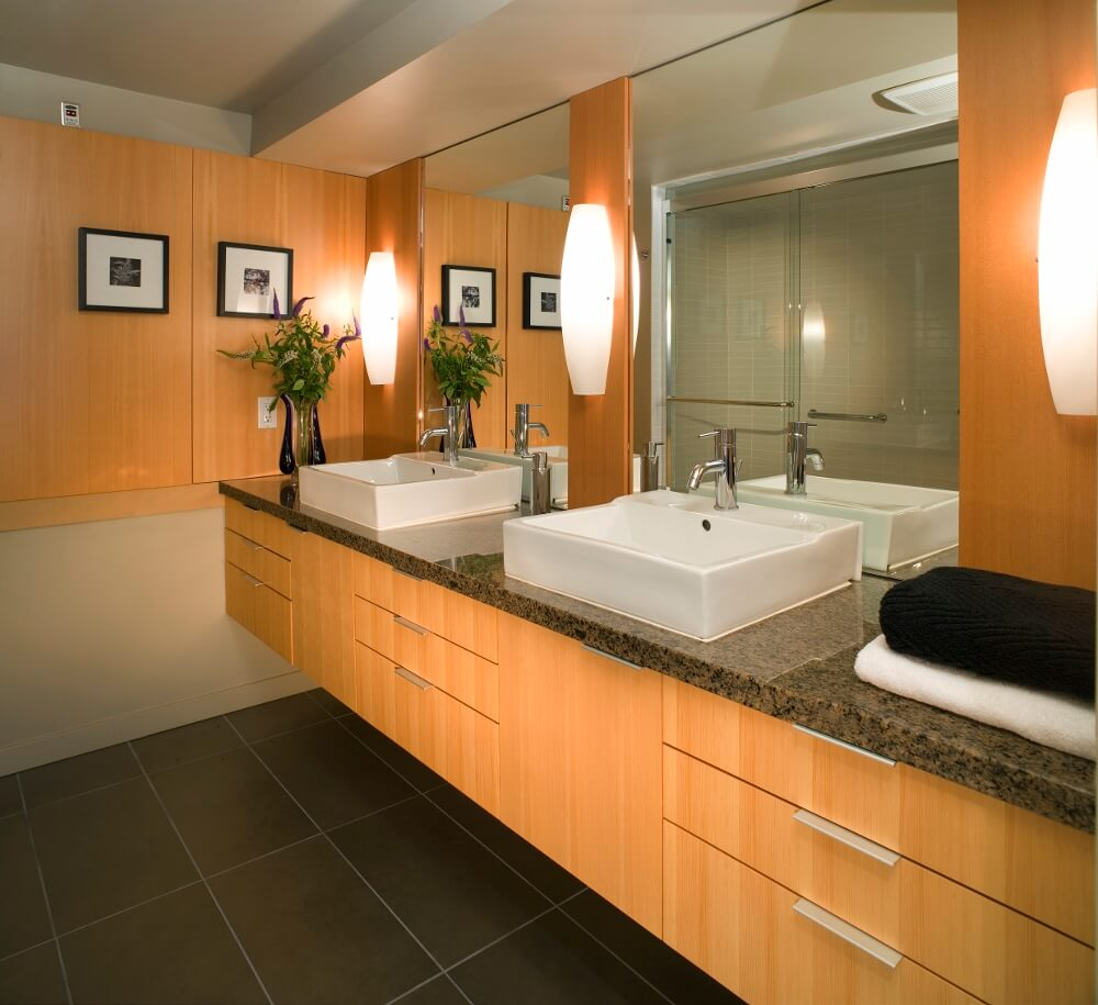 Luxury Bathroom Double Vanity