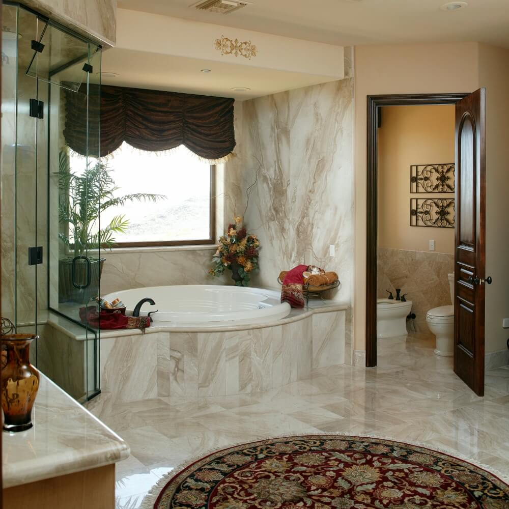 Luxury Bathroom Rug