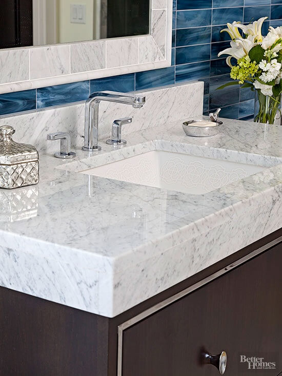 2016 Bathroom Countertop Trends Custom Contracting Inc