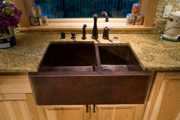 Remove Food From Kitchen Sink