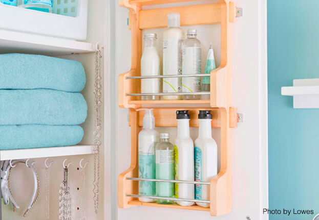 Small Bath Storage Vanity Door