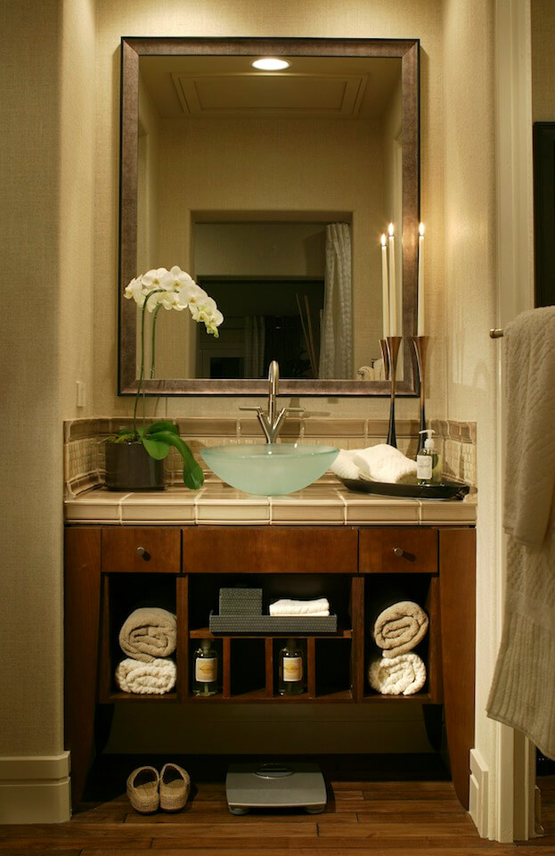 8 small bathroom designs you should copy bathroom remodel for Office bathroom ideas