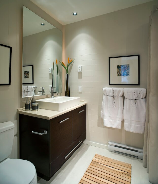 small bathroom modern