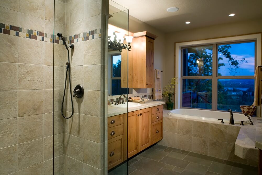 Travertine Shower Tile