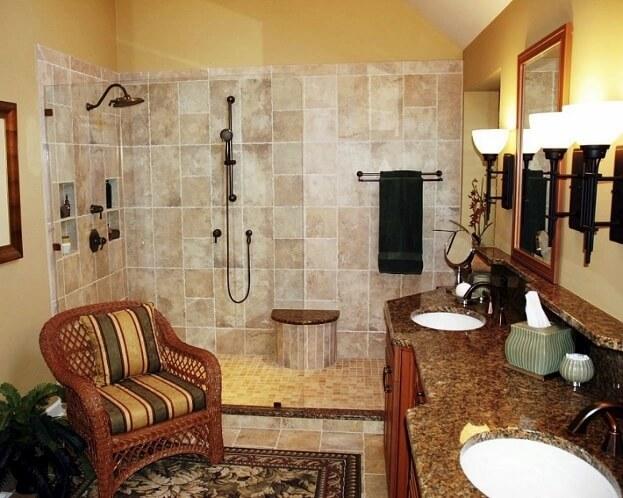 Warm Bathroom