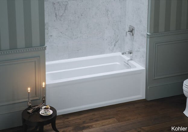 8 soaker tubs designed for small bathrooms small bath for How deep is a normal bathtub