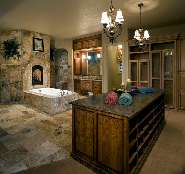 8 luxury master bathrooms every couple dreams of for Bathroom ideas karachi