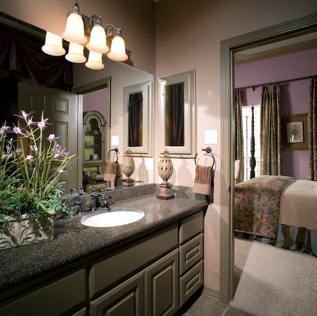 Bathroom countertop trends you must know for Engineered quartz countertops