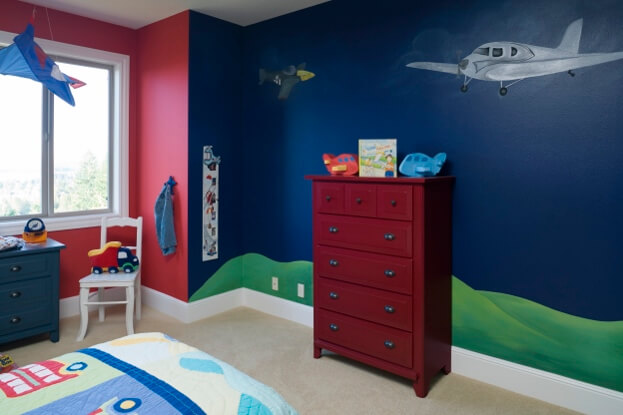 Bright And Bold Boys Room
