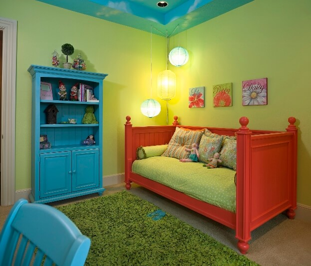 Bright and Bold Girls Room