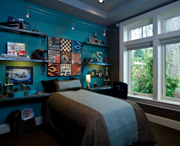 Car Themed Boys Bedroom