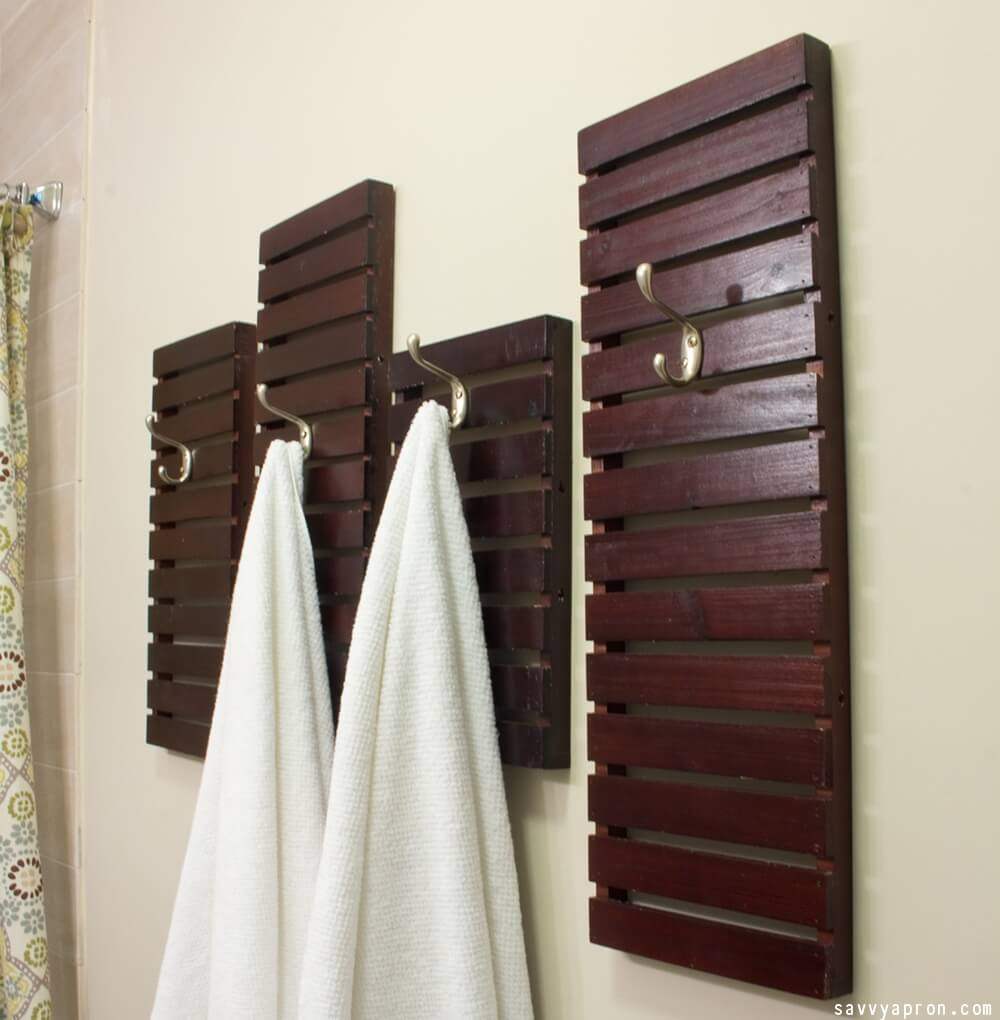 Diy Decorative Bathroom Towels : Diy bathroom d?cor ideas