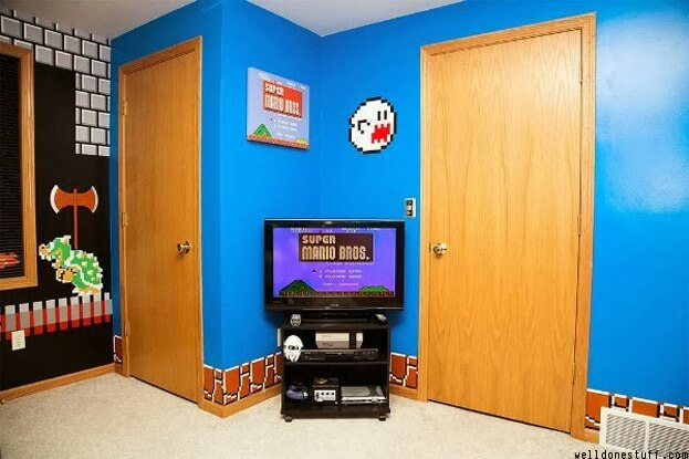 Video Game Bedroom