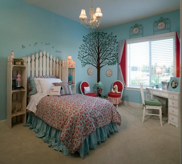 Whimsical Girls Room