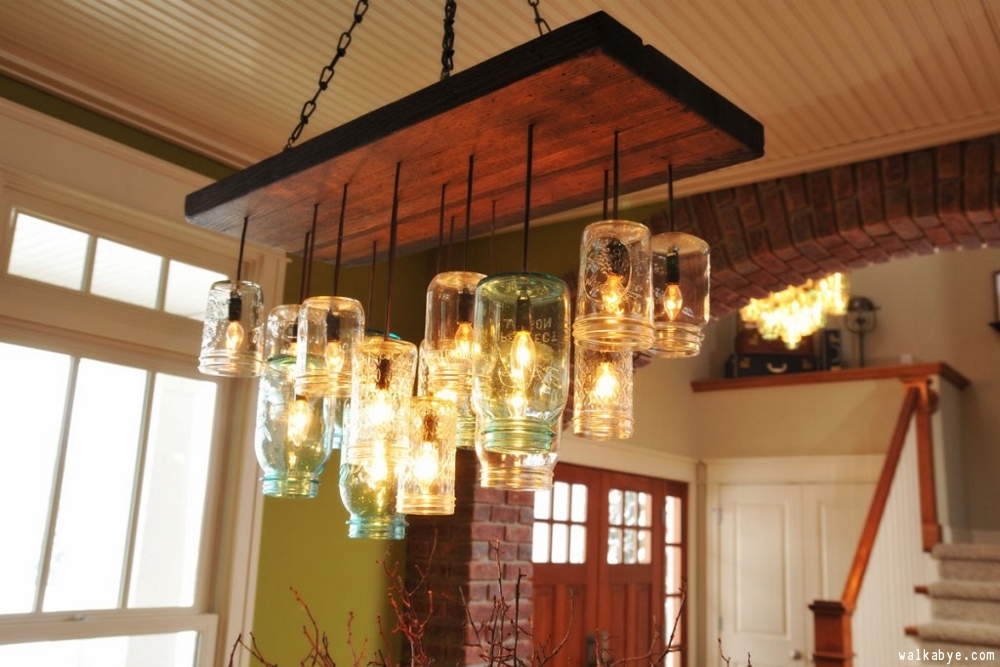 DIY Dining Room Chandeliers