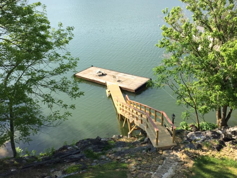 2017 boat dock costs boat dock plans types for Dock pilings cost