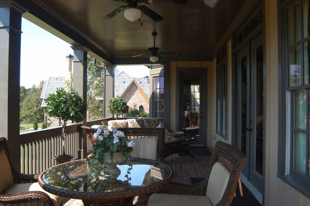 Cozy Backyard Deck
