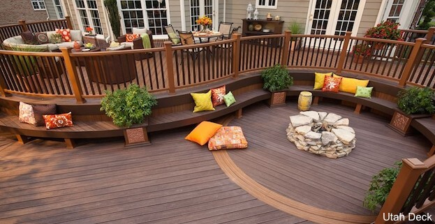 Large Trex Deck