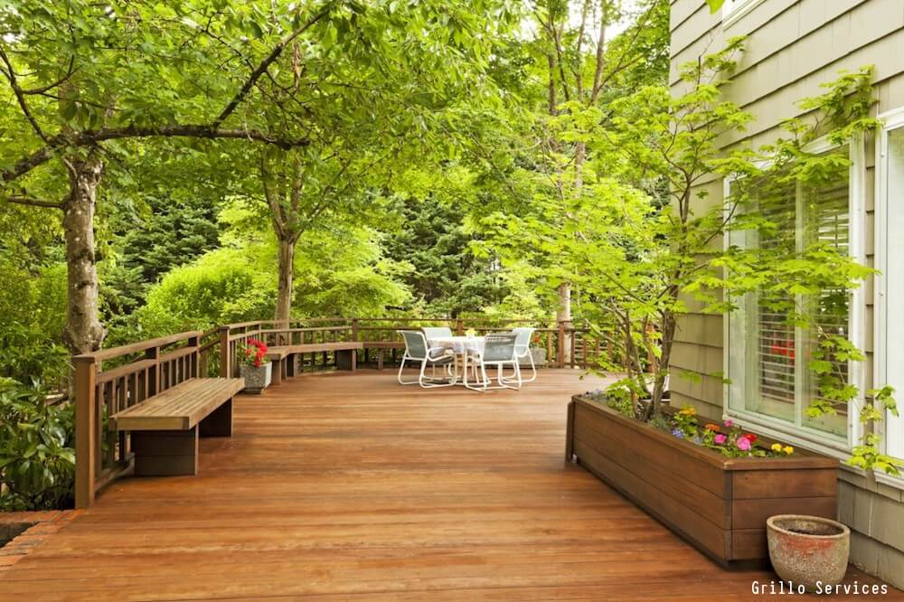 2017 wood deck prices per square foot 12x20 deck cost