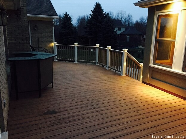 Simple Deck Lighting