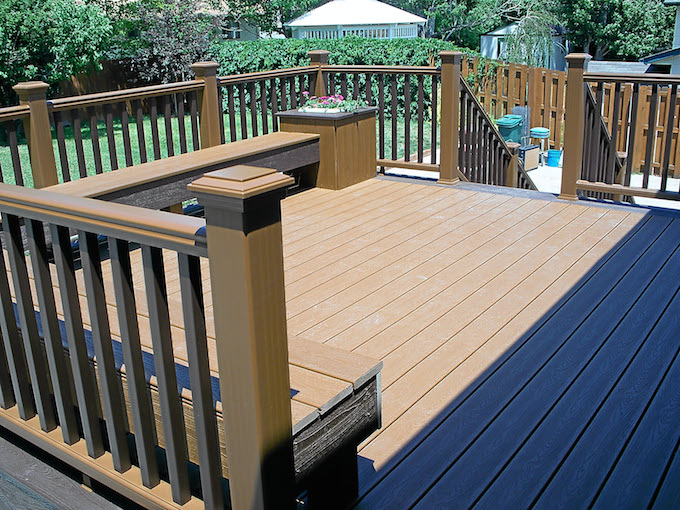 drawbacks of trex decking materials - Trex Deck Design Ideas