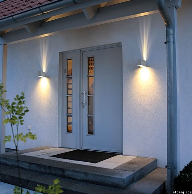 Modern Porch Lighting