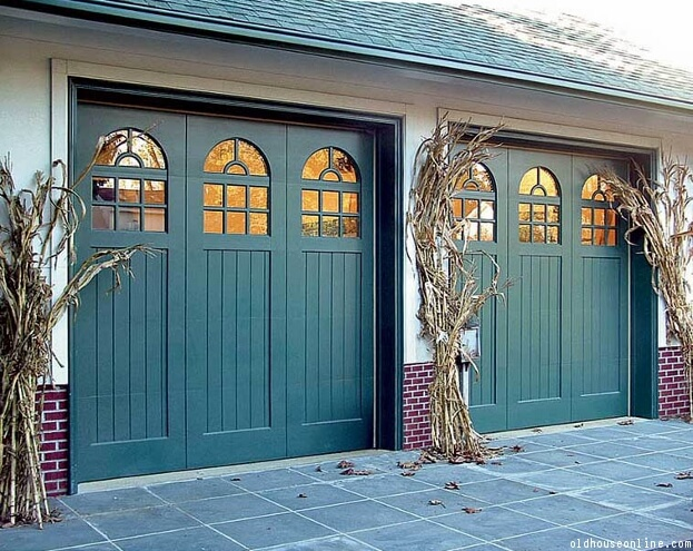 Colorful Garage Door