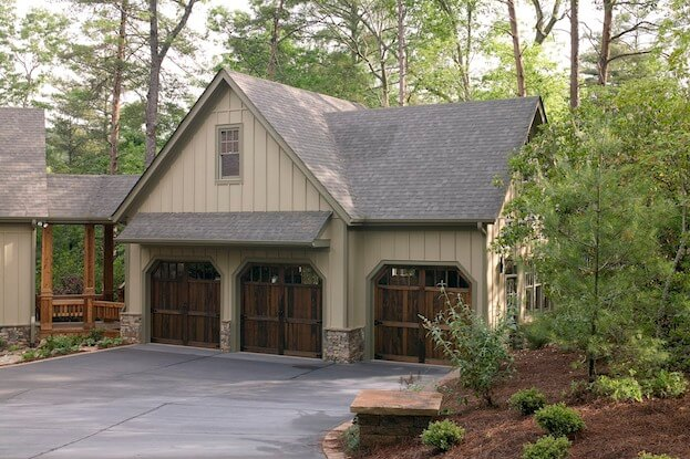 Detached vs attached garages which is right for you for A frame house plans with attached garage