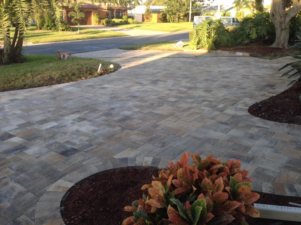 2017 Driveway Pavers Cost Per Square Foot Pavers Driveway