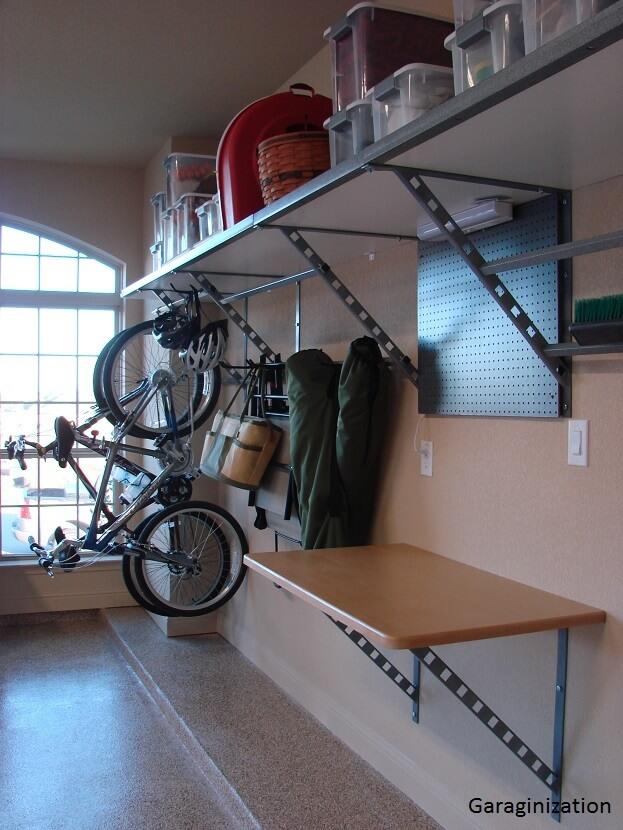 Garage Storage Clear Plastic Bins
