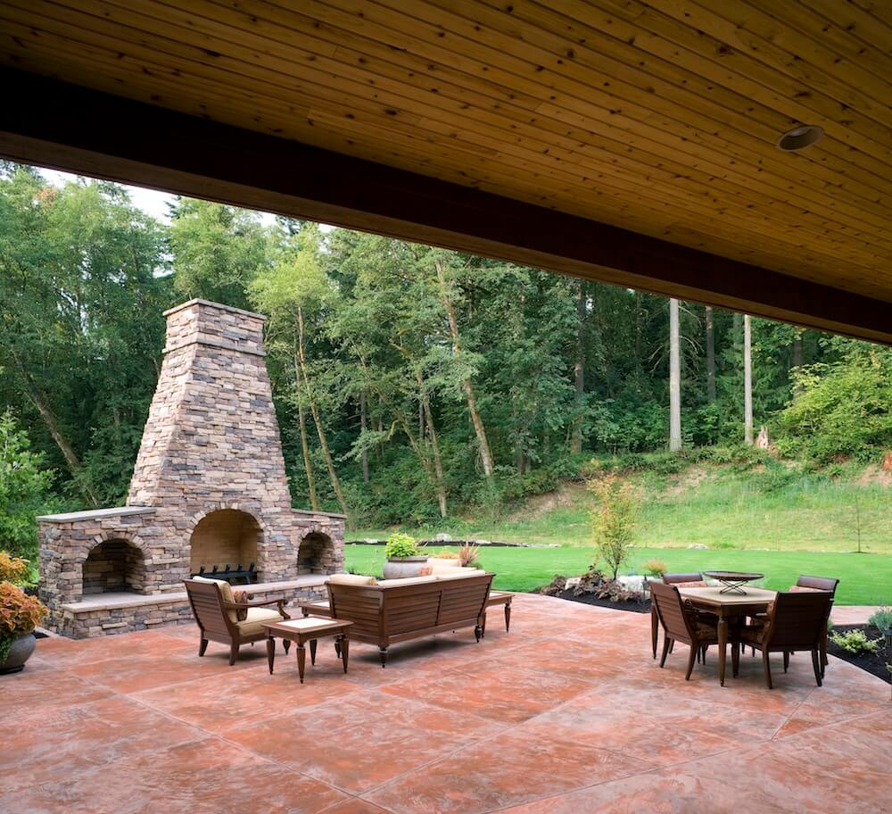 Cost of building a fireplace - How To Build An Outdoor Fireplace