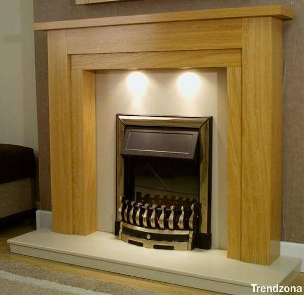 Wood Fireplace Design