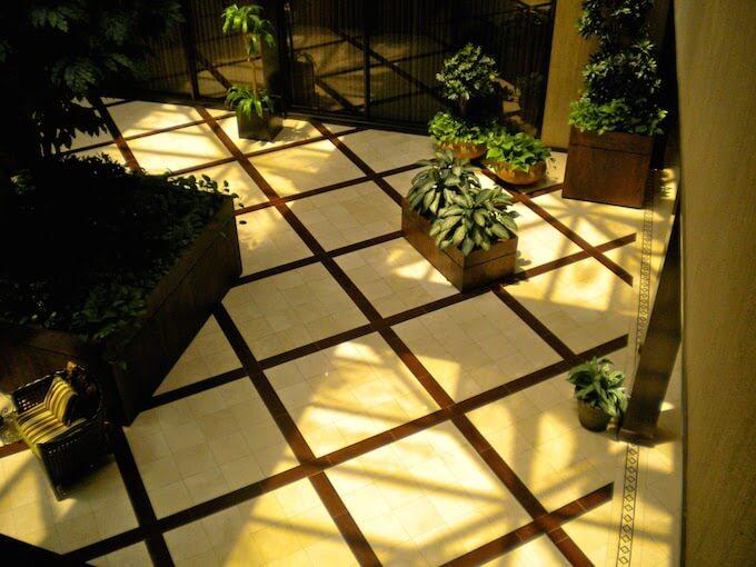 Stone Floor Inlays : Stone tile floor inlay costs inlays flooring