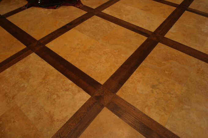 What Are Stone Tile Floor Inlays
