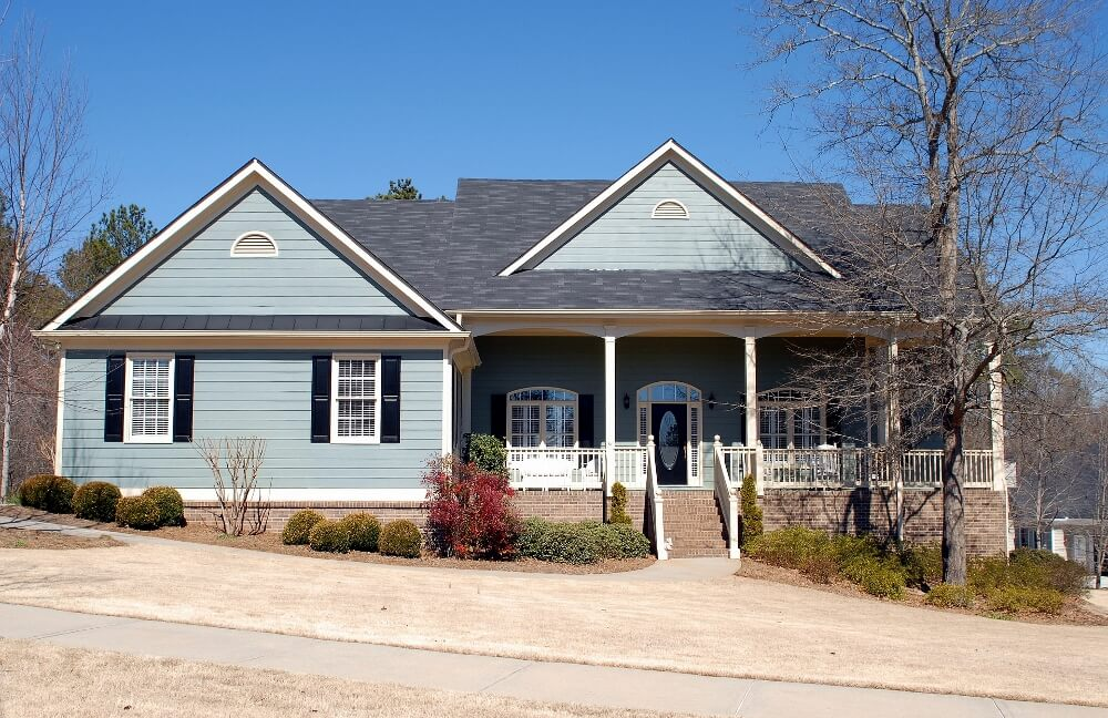 Top exterior home color schemes exterior house colors - Cost to paint home exterior ...